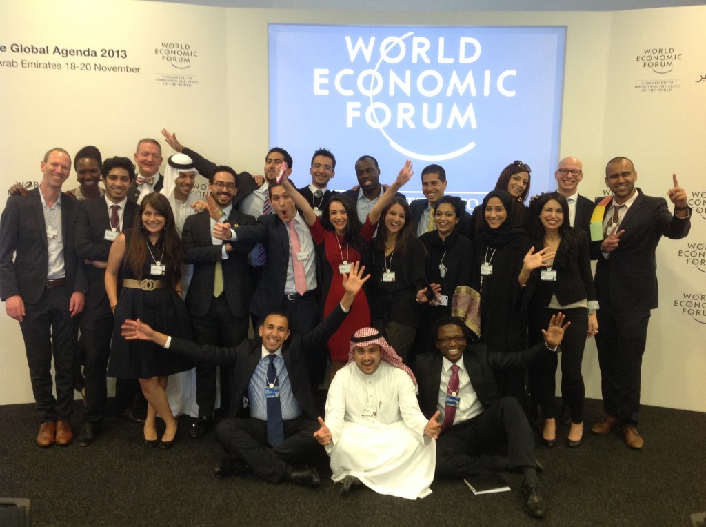 WEF Abu Dhabi Shapers Session